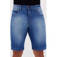 Bermuda Jeans Hd Tide Ly Azul