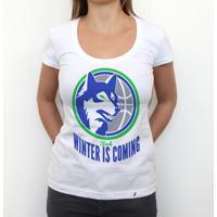 Winter Is Coming - Camiseta Clássica Feminina