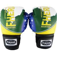 Kit Boxe Muay Thai Top - Luva Bandagem Bucal - Unissex