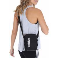 Bolsa Adidas Linear Core Organizer - Feminina - Preto