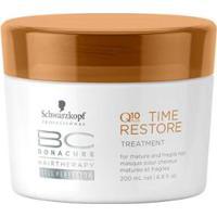Máscara De Tratamento Schwarzkopf Bonacure Q10 Plus Time Restore 200Ml - Unissex-Incolor