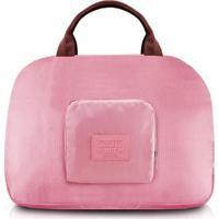 Bolsa De Viagem Dobrável Jacki Design Viagem - Unissex-Rosa