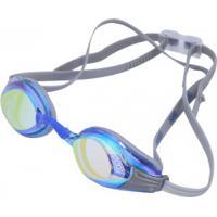 Óculos De Natação Speedo Aquashark - Adulto - Cinza/Azul