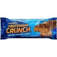 Barra De Proteína Exceed Proteinbar Crunch Dulce De Leche 30G