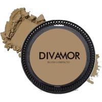 Blush Compacto Divamor 7G - Bronze - Unissex-Incolor
