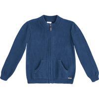 Jaqueta Com Bolsos - Azul Escurohering