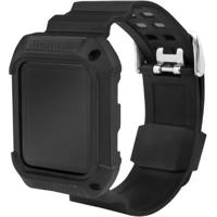 Pulseira Armor Gorila Shield Para Apple Watch 38Mm Preto