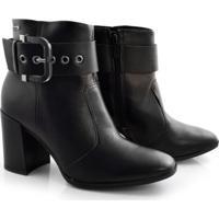 Ankle Boots De Couro Dakota