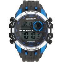Relógio Speedo 80613G0Evnp1 Preto/Azul