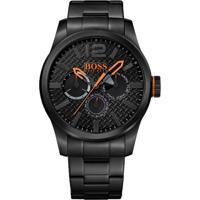 Relógio Hugo Boss Masculino Aço Preto - 1513239
