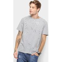 12fcbc004e ... Camiseta Cavalera Estampa Respingos Masculina - Masculino