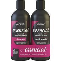 Yenzah Essencial Kit - Shampoo + Condicionador Kit - Unissex-Incolor