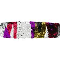 Missoni Mare Headband Com Paetês - Metálico