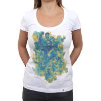 Camiseta Feminina Adidas - MuccaShop f4d3194b5592b