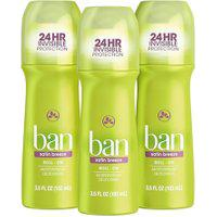 Ban Desodorante Roll-On Satin Breeze - 103Ml 3 Unidades
