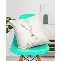 Amaro Feminino Design Up Living Capa De Almofada Signo 42X42, Touro