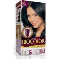 Tintura Biocolor S O S Raiz 2.0 Preto Azulado Incrível