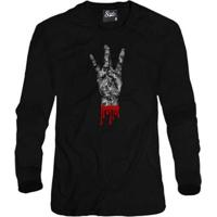 Casaco Moletom Skull Clothing West Side Masculino - Masculino-Preto