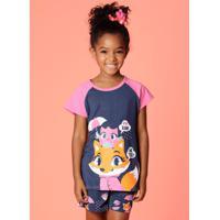 Pijama Curto Chuva Kids 1