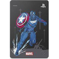 Hd Externo Seagate Gamedrive Ps4 Avengers, 2Tb, Capitão América - Stgd2000107