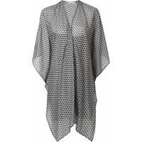 Mitos Kimono Lia - Cinza