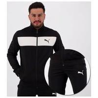 Agasalho Puma Techstripe Tricot Suit Preto
