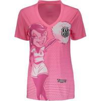 Camisa Topper Ponte Preta 2018 Outubro Rosa Feminina - Feminino