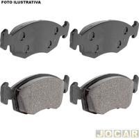 """Pastilha Do Freio - Lonaflex - Fox 2003 Em Diante/Polo 2002 Em Diante - Sistema Teves - Aro 13"""" - Dianteiro - Jogo - P367"""