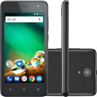 Smartphone Multilaser Ms45 Nb748 4G 8Gb Desbloqueado Preto