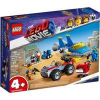 Lego Movie - O Filme 2 - Oficina De Construção E Conserto Do Emmet E Benny - 70821