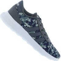 Tênis Adidas Lite Racer K - Infantil - Cinza Escuro