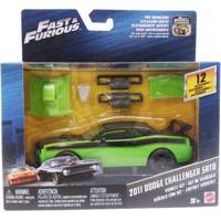 Carrinho Customizável - Velozes E Furiosos - 2011 Dodge Challenger Srt8 - Mattel - Masculino