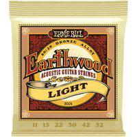 Encordoamento Para Violão Ernie Ball Earthwood 2004 Light