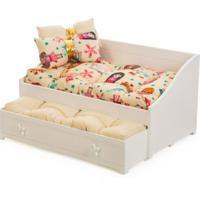 Bicama Para Boneca Com 2 Colchões E 2 Travesseiros - Maria Girl