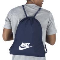 Gym Sack Nike Heritage 2.0 - Azul Esc/Branco