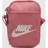 Bolsa Nike Sportswear Heritage S Smit Rosa