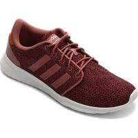 Tênis Adidas Qt Racer Feminino - Feminino-Vinho
