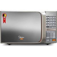 Microondas Mtaeg42 30L Com Grill 900W Porta Espelhada Prata Midea 110V