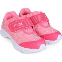 Tênis Infantil Happy Luck Borboletas - Feminino-Pink