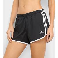 Short Adidas Marathon 20 Feminino - Feminino-Preto