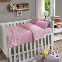 Manta Infantil Soft Baby Lisa Rosa Beb㪠- Sbx Tãªxtil - Rosa - Dafiti