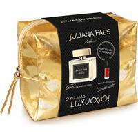 Kit Juliana Paes Deluxe Deo Parfum 100Ml + Esmalte + Necessaire - Feminino-Incolor
