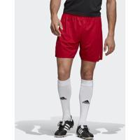 Shorts Futebol Adidas Parma Vermelho