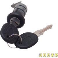 Cilindro Da Chave Da Porta - Uno 1984 Até 2004 - Elba/Prêmio - 1984 Até 1993 - 2 Portas - Lado Do Motorista - Cada (Unidade)