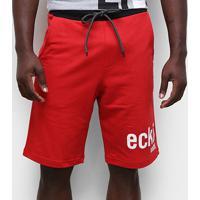 Bermuda Moletom Ecko Logo Ii Masculina - Masculino