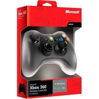 Controle Microsoft Sem Fio Com Receiver - Pc E Xbox 360 - Unissex