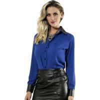Camisa Principessa Riana Azul
