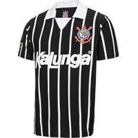 Camisa Polo Retrô Corinthians Réplica 1990 Masculina - Masculino
