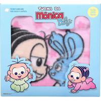 Cobertor Bebê Menina Turma Da Mônica 90 Cm X 1,10 M Estampado