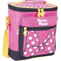 Lancheira Infantil Especial Minnie 19Y - Feminino-Rosa